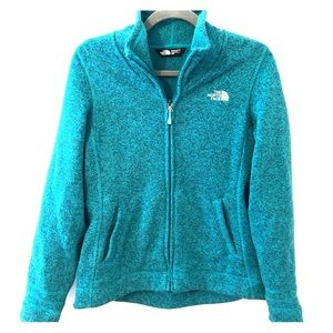 Cozy North Face full zip fleece